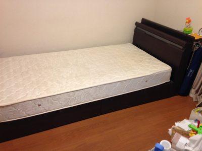 中央区 ベッド回収_170123_0002